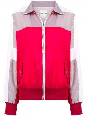 Colour blocked design jacket Each X Other. Цвет: красный