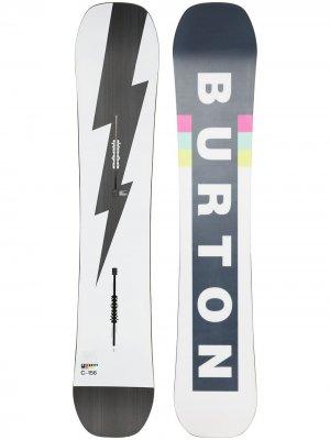 Сноуборд Custom Camber 156 Burton AK. Цвет: белый