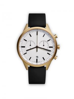 Часы C41 Chronograph Uniform Wares. Цвет: черный