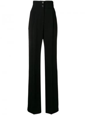 High waisted flared trousers Antonio Berardi. Цвет: черный