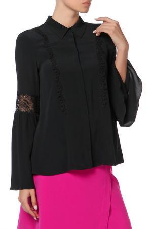 Блузка Pennyblack. Цвет: черный
