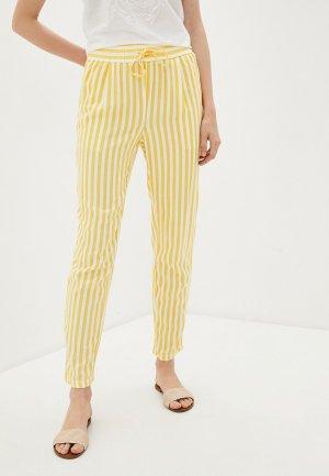 Брюки Vero Moda. Цвет: желтый