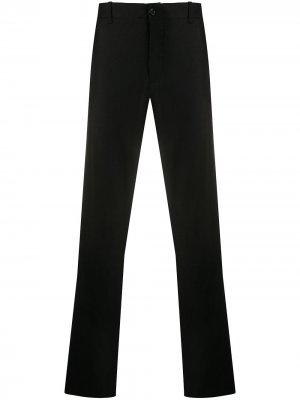 Прямые брюки строгого кроя YMC. Цвет: черный