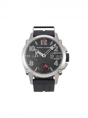Наручные часы  Indicator pre-owned 49 мм 2010-го года Porsche Design. Цвет: черный