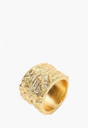 Кольцо Mango. Цвет: золотой