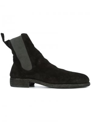 Ботинки Челси Guidi. Цвет: черный