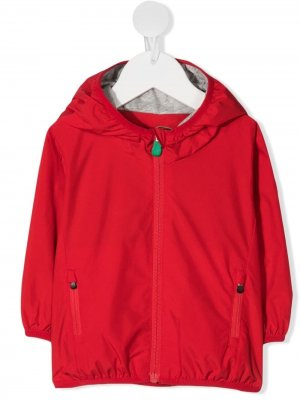 Куртка с нашивкой-логотипом Save The Duck Kids. Цвет: красный