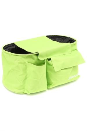 Сумка-органайзер с креплениями CASUAL СHIC. Цвет: салатовый