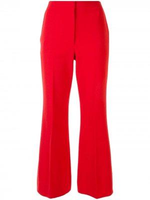 Укороченные расклешенные брюки Proenza Schouler. Цвет: красный