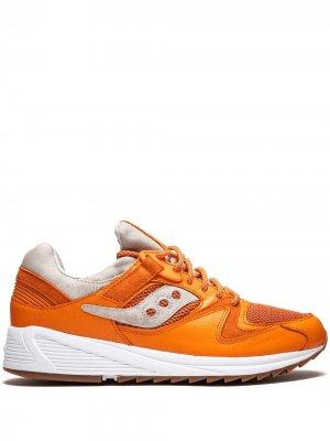 Кроссовки Grid 8500 Saucony. Цвет: оранжевый