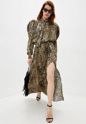 Платье Zadig & Voltaire. Цвет: бежевый