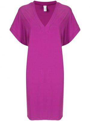 Платье-туника Renée Eres. Цвет: фиолетовый