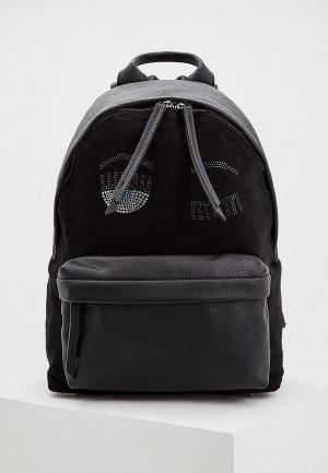 Рюкзак Chiara Ferragni Collection. Цвет: черный
