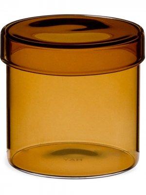 Стеклянный сосуд Hay. Цвет: золотистый