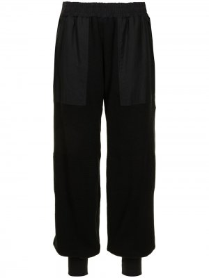 Ys зауженные брюки Y's. Цвет: черный