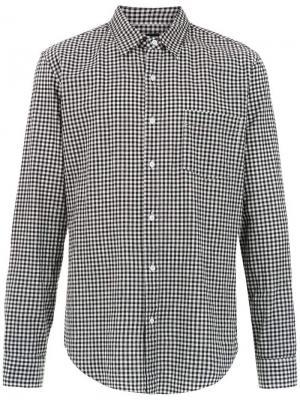 Vichy plaid shirt Osklen. Цвет: серый