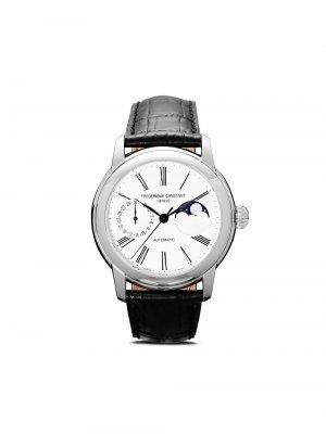 Наручные часы Classic Moonphase Manufacture 42 мм Frédérique Constant. Цвет: серебристый