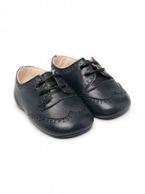 Туфли на шнуровке La Stupenderia. Цвет: синий