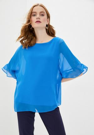 Блуза Wallis. Цвет: голубой