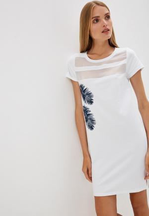 Платье Blugirl Folies. Цвет: белый