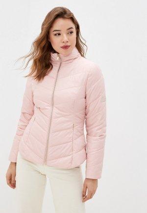 Куртка утепленная Ted Baker London. Цвет: розовый