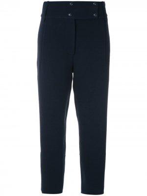 Укороченные брюки с завышенной талией Gloria Coelho. Цвет: синий