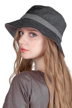 Шляпа DISPACCI. Цвет: черно-серый