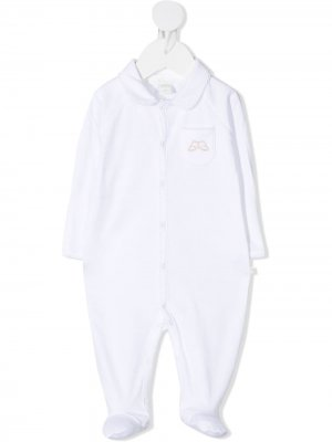 Пижама с фестонами Marie-Chantal. Цвет: белый