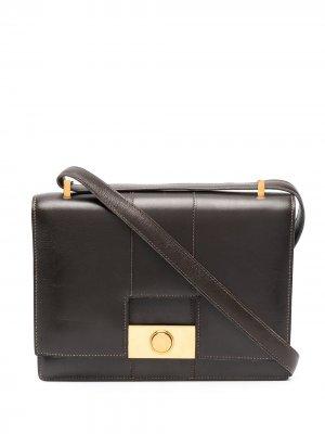 Сумка на плечо Princesse V2 pre-owned Hermès. Цвет: коричневый