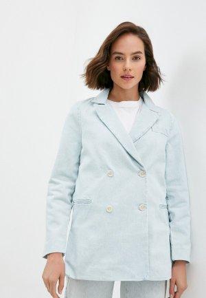 Пальто Levis® Made & Crafted™ Levi's®. Цвет: голубой