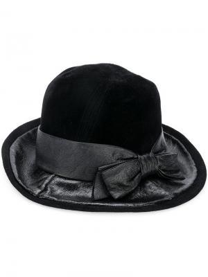 Шляпа с бантом A.N.G.E.L.O. Vintage Cult. Цвет: черный