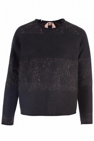 Джемпер N°21. Цвет: черный