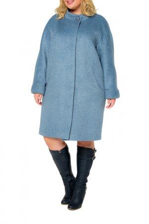 Пальто KR. Цвет: голубой