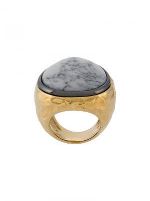 Кольцо Marble Aurelie Bidermann. Цвет: золотистый