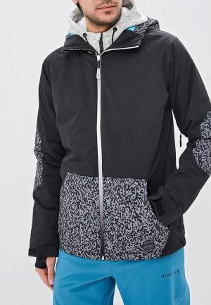 Куртка горнолыжная Billabong. Цвет: черный