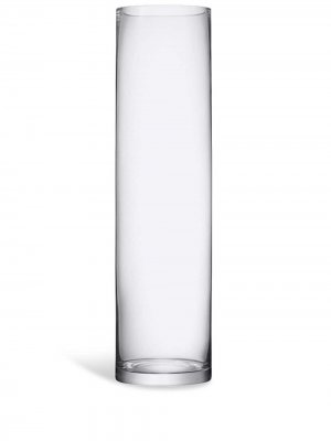 Большая стеклянная ваза Column LSA International. Цвет: нейтральные цвета
