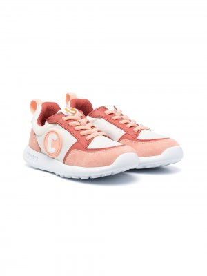 Кроссовки Drifite на шнуровке в стиле колор-блок Camper Kids. Цвет: розовый