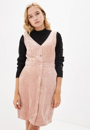 Сарафан Vero Moda. Цвет: розовый