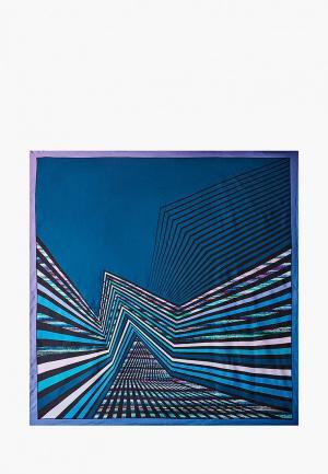 Платок Leo Ventoni. Цвет: синий