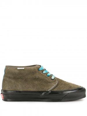 Кеды Vault OG Chukka на шнуровке Vans. Цвет: зеленый
