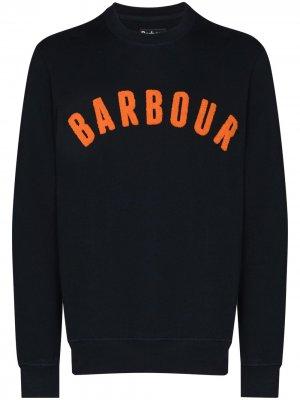 Толстовка Prep Logo Barbour. Цвет: синий