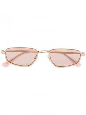 Солнцезащитные очки Gal Jimmy Choo Eyewear. Цвет: розовый