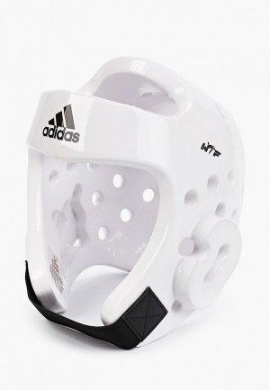 Шлем adidas Combat. Цвет: белый