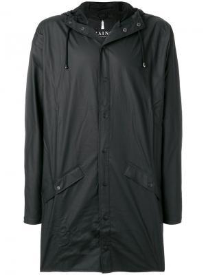 Пальто Alpine Rains. Цвет: черный