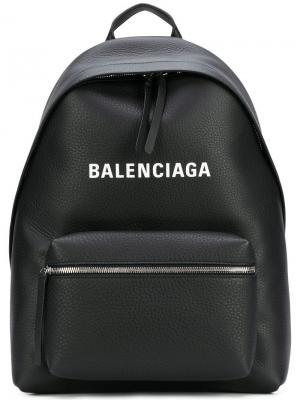 Рюкзак Bal Everyday Balenciaga. Цвет: черный