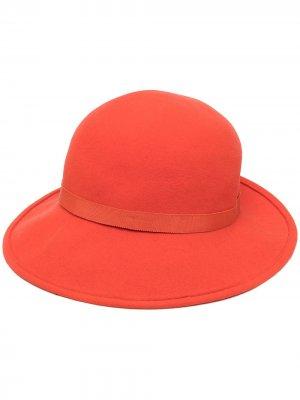 Декорированная шляпа pre-owned Céline. Цвет: оранжевый