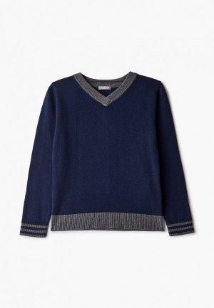 Пуловер Gulliver. Цвет: синий