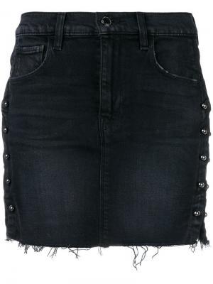 Облегающая юбка мини Hudson. Цвет: черный
