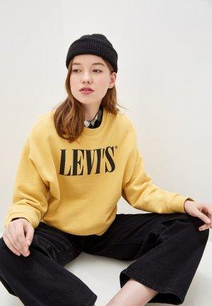 Свитшот Levis® Levi's®. Цвет: желтый