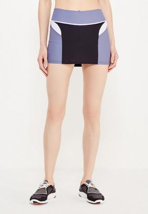 Юбка-шорты Dali. Цвет: черный